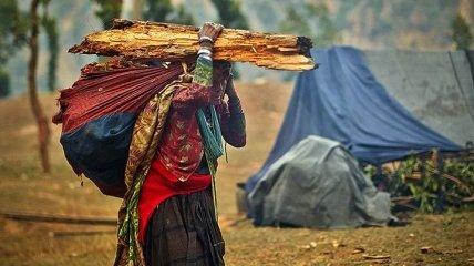 Последние охотники: жизнь первобытного племени в Непале (Фото)