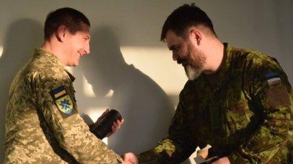 Украинские военные будут сотрудничать с эстонскими коллегами