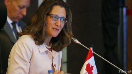 Фриланд прокомментировала открытие Украине доступа к канадскому рынку оружия