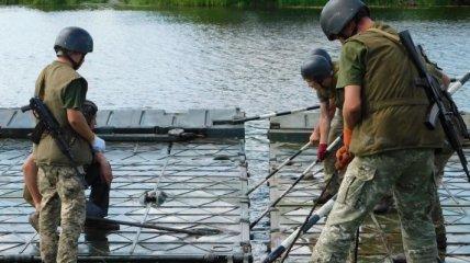 На Житомирщине, в условиях приближенных к боевым, прошли военные учения