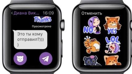 Вышел официальный клиент Viber для Apple Watch