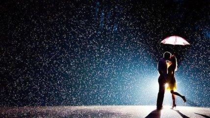 Красивые свадебные фото, сделанные под дождем и снегом (Фото)