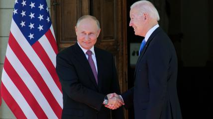 Встреча Байдена и Путина состоялась в Женеве 16 июля 2021 года