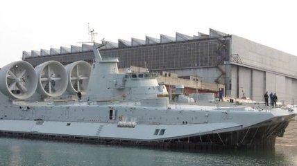 Украина построила крупнейший в мире корабль-амфибию для Китая