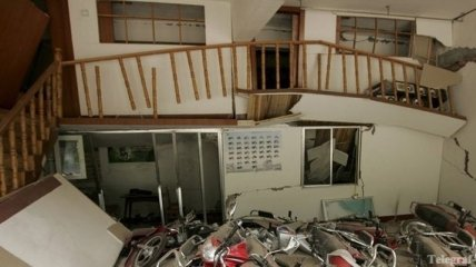 Число жертв землетрясения в Китае возросло до 24 человек