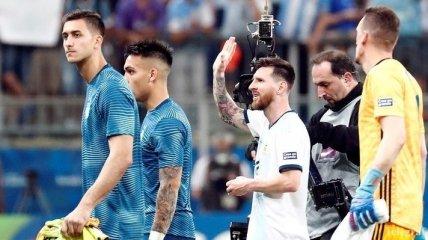 Месси: Аргентина провела хороший матч и выиграла