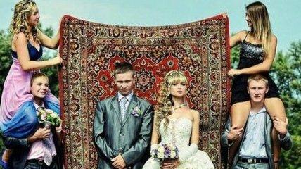 Забавные свадебные снимки специально для вас!