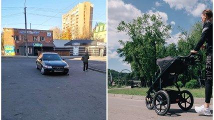 У Рівному легковик збив візок з дитиною