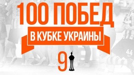 100 побед Шахтера в Кубке Украины (Фото)