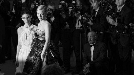 Потрясающие черно-белые снимки с Каннского кинофестиваля 2015 (Фото)