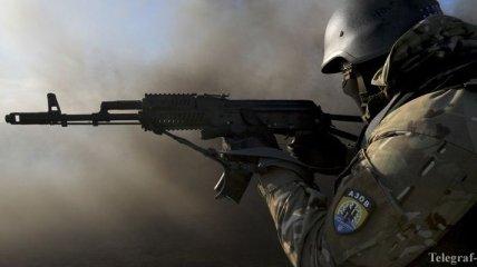 """Позиции """"Азова"""" обстреливают под Гранитным"""