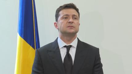 Владимир Зеленский после встречи с Байденом в США