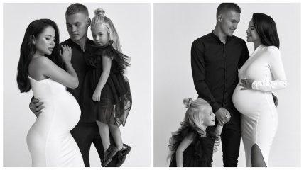 Виталий Буяльский с семьей
