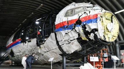 """То, что осталось от """"Боинга"""" после катастрофы над оккупированным Донбассом"""
