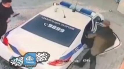 Правоохранители украли мусорку