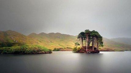 Чудная страна с неописуемо красивыми пейзажами (Фото)