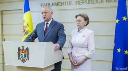 Додон выступает за сотрудничество парламентов Молдовы и РФ