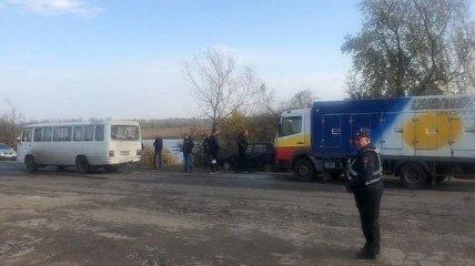 ДТП в Одесской области: грузовик влетел в микроавтобус, есть пострадавшие