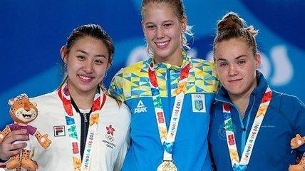 Украинка Чорний завоевала золото на юношеской Олимпиаде