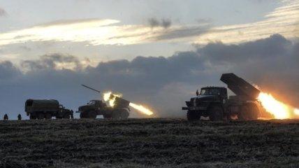 Штаб АТО: Боевики ведут обстрел из РСЗО в направлении Горловки