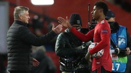 Суперсейв Де Хеа и хет-трик Рашфорда: видеообзор матча Манчестер Юнайтед - РБ Лейпциг