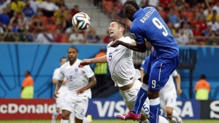 ЧМ-2014. Италия справилась с Англией