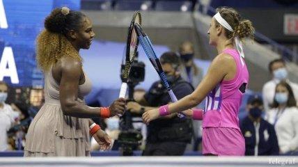 Азаренко зупинила Серену Вільямс на шляху до фіналу US Open-2020 (Відео)
