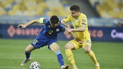 Украина - Казахстан 1:1 (31.03.2021)
