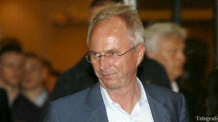 Эрикссон ожидает 26 декабря и выразил желание жить в Киеве