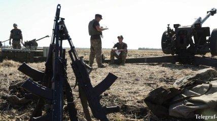 Штаб АТО сообщает о ранении трех украинских бойцов