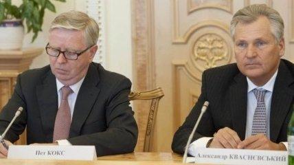 Кокс и Квасьневский сделали заявление