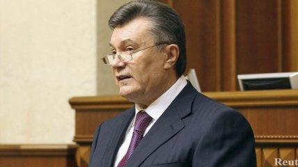 Янукович о выполнении 11 требований ЕС: процесс идет