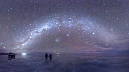 Волшебные места, которые оживают ночью (Фото)