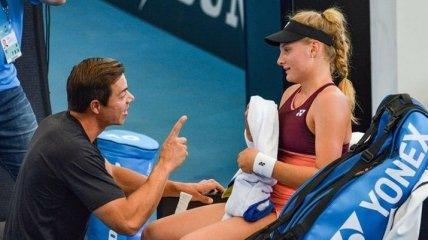 Українська топ-тенісистка звільнила тренера після коментаря в twitter