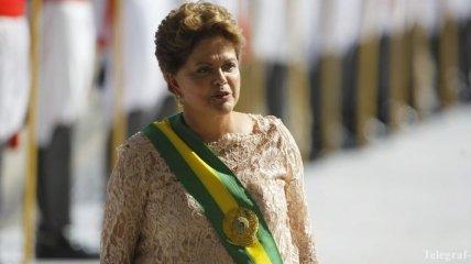 Президент Бразилии приняла присягу