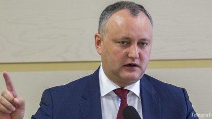 Президент Молдовы сообщил, что на него готовится покушение
