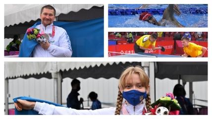 Украинские паралимпийцы на Играх в Токио