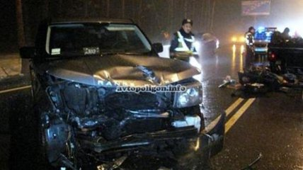 Виновна ли жена украинского футболиста в ДТП на Столичном шоссе?