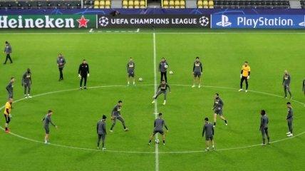 Боруссия Д - Интер: составы команд