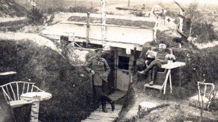 Как солдаты обустраивали свой быт во время Первой мировой (Фото)
