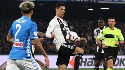 Роналду выразил недовольство Аллегри