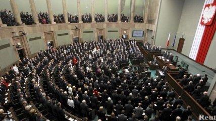 """Cейм Польши отказался назвать Волынскую трагедию """"геноцидом"""""""