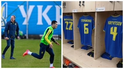 Тарас Степаненко готовится к игре