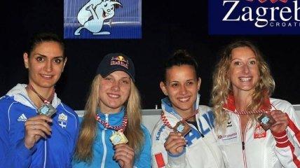 Украинка стала чемпионкой Европы по фехтованию