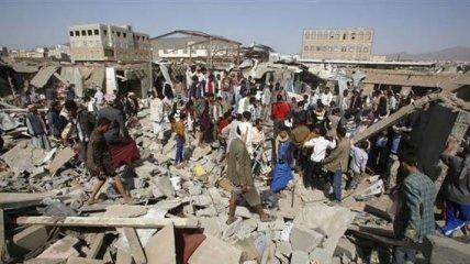 В Йемене произошел авиаудар по рынку, минимум 25 жертв