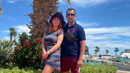 Артур Єрохін і його дружина Вероніка