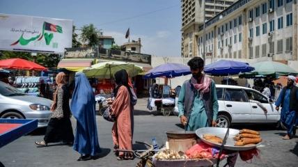 Улицы Кабула в августе.