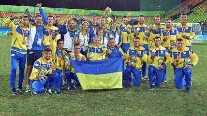 Украина вышла в финал паралимпийского ЧМ по футболу, обыграв Россию
