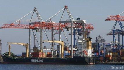 Одесский порт значительно увеличил объемы перевалки грузов