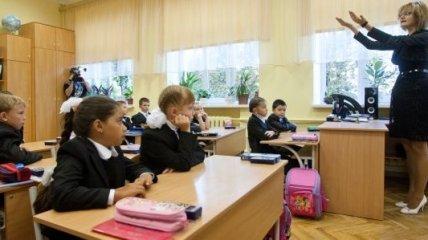 Из иностранных языков в украинских школах преобладает английский